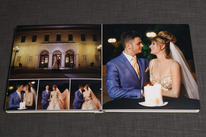 interior de album foto tip carte