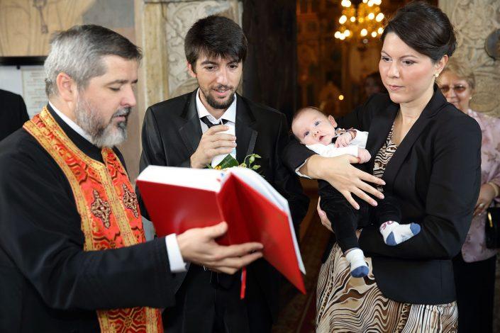 botez, biserica