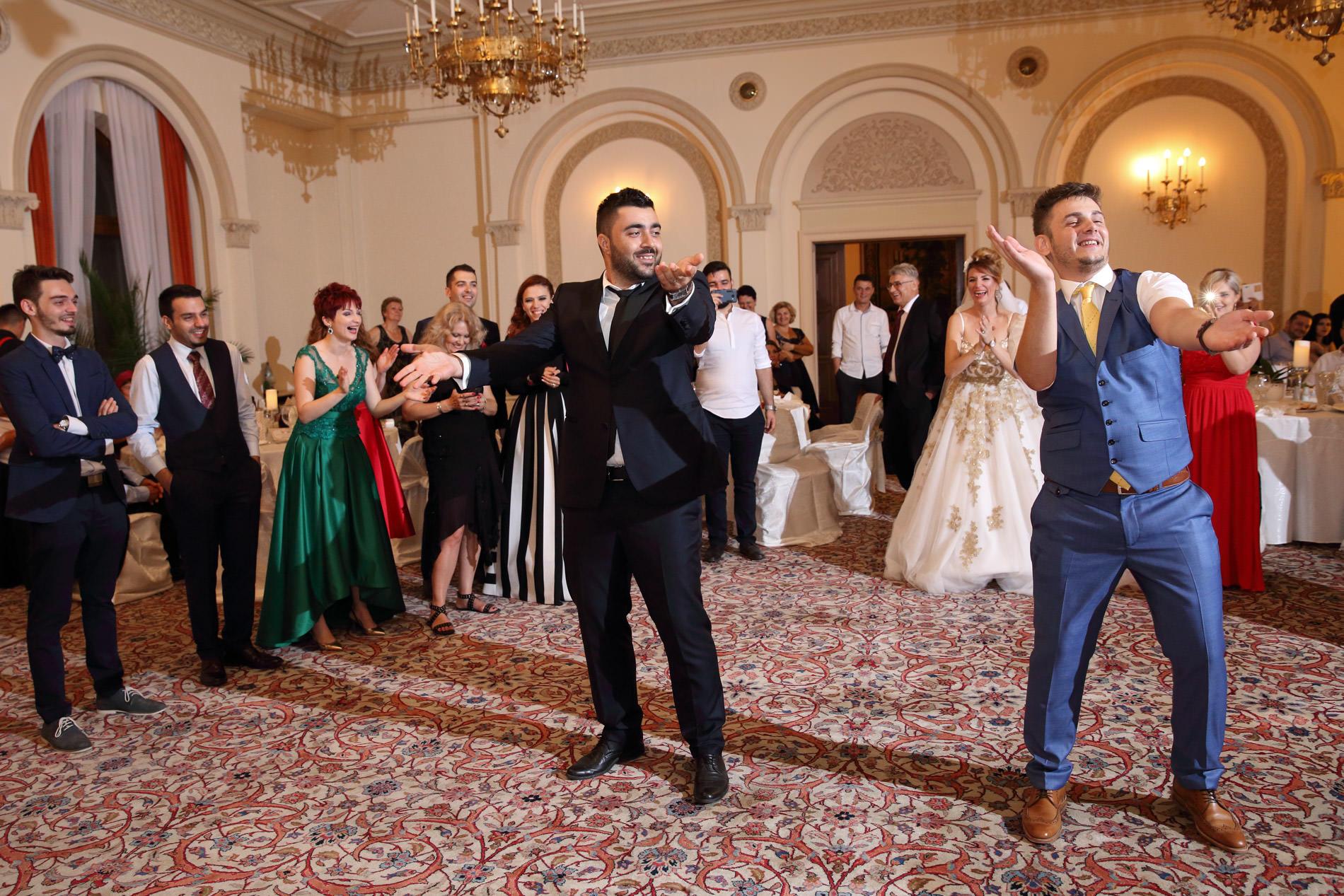 Petrecere nunta, Palatul snagov