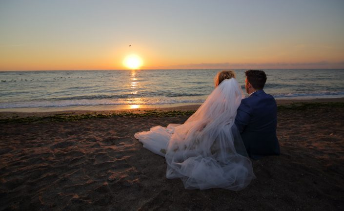 Trash The Dress, rasaritul soarelui