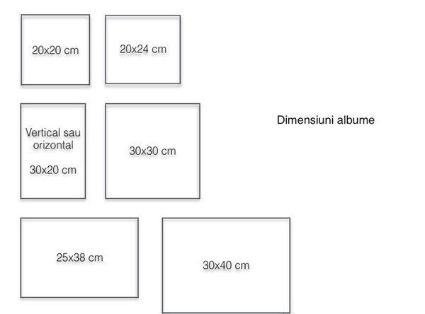 Dimensiuni albume