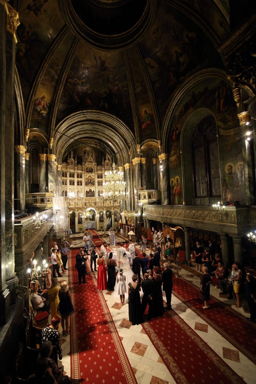 Nunta la Catedrala Sf. Spiridon Nou