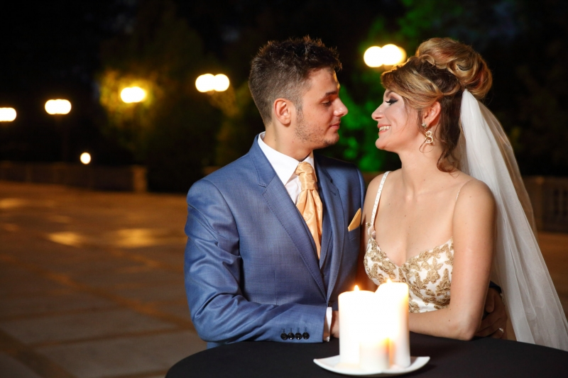 Foto nunta romantica
