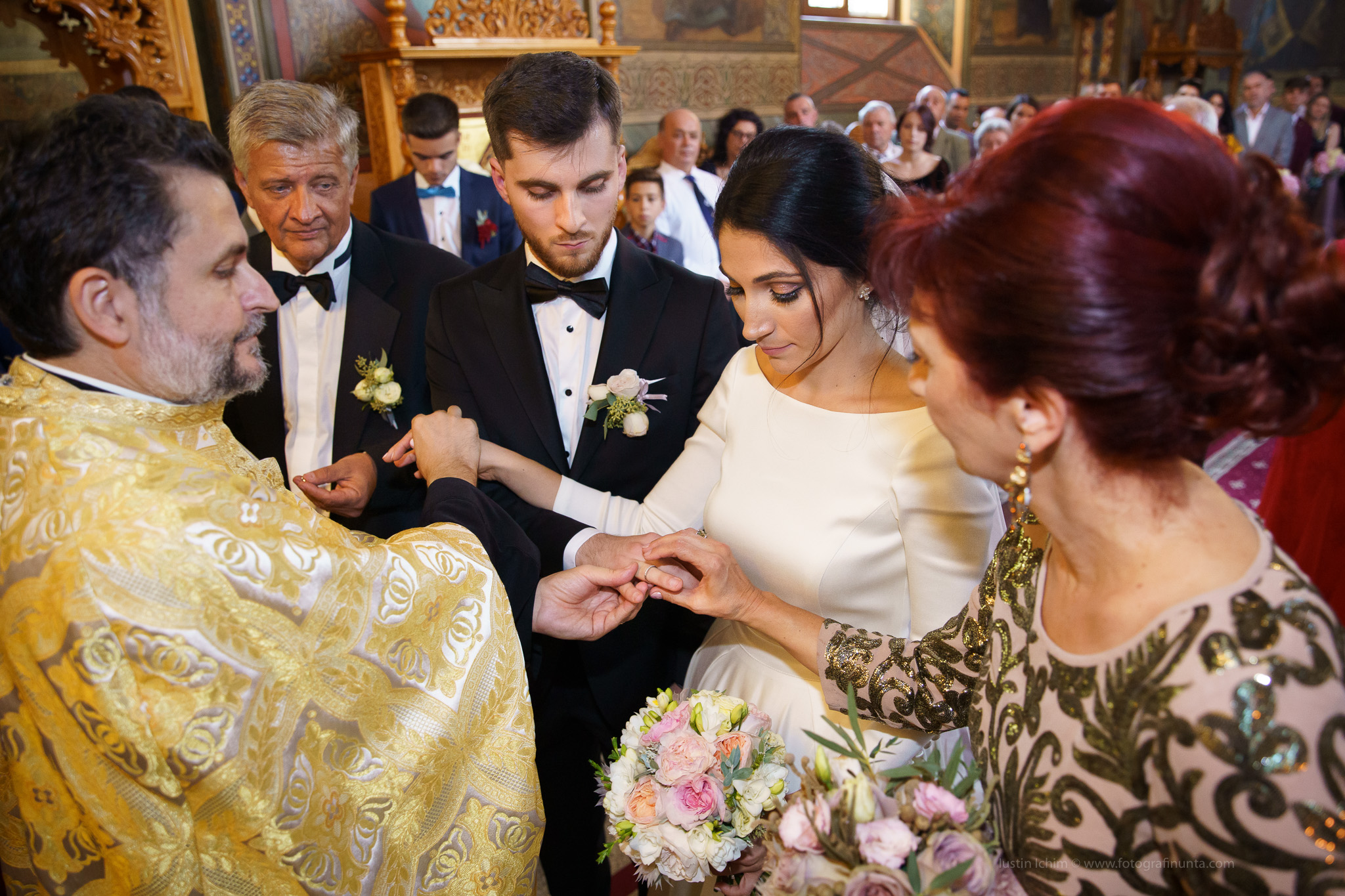 Nunta, foto cununie religioasa