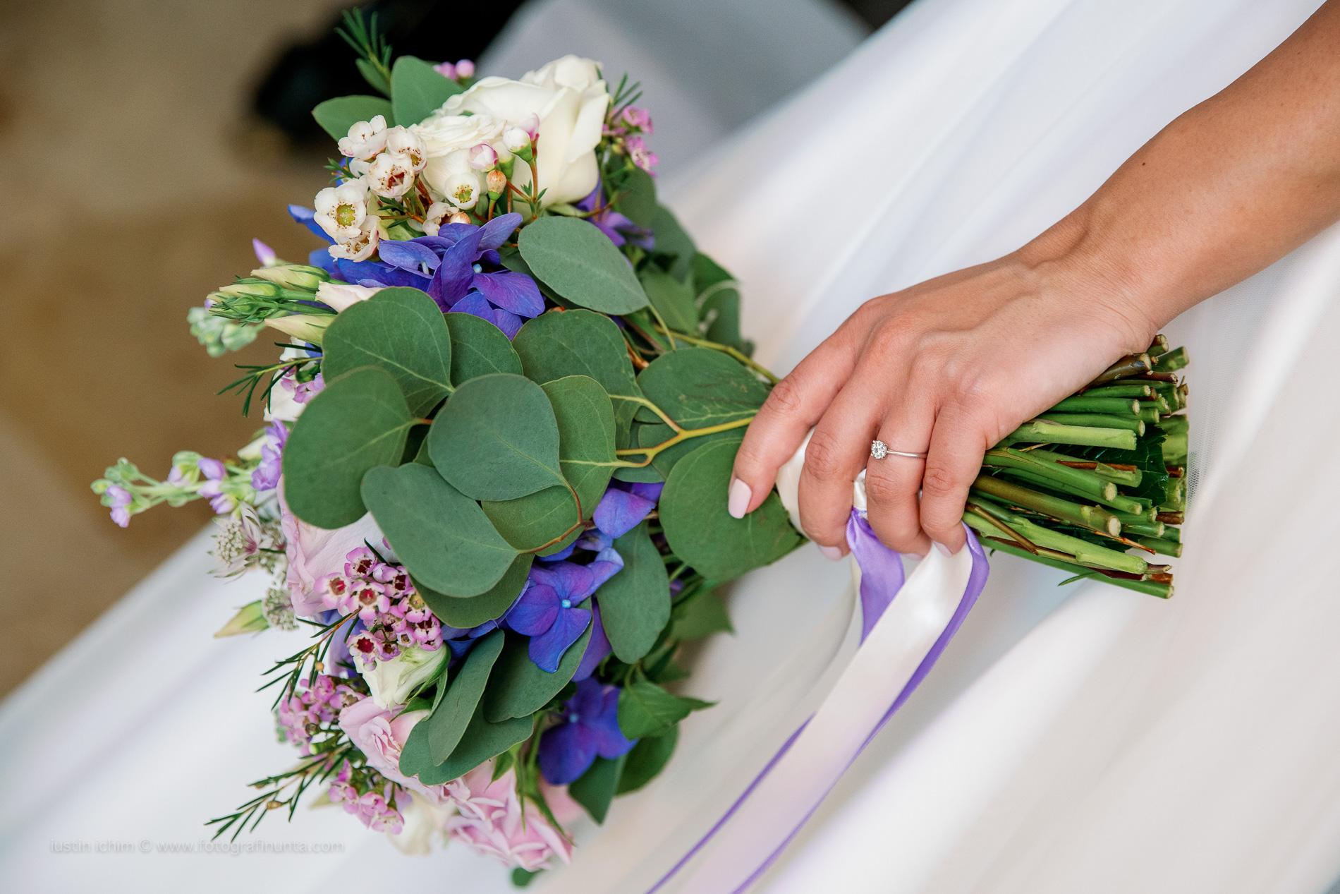 Buchet de nunta, buchetul miresei
