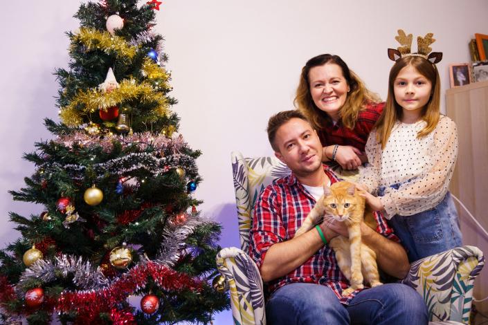 Ședinta foto de Crăciun